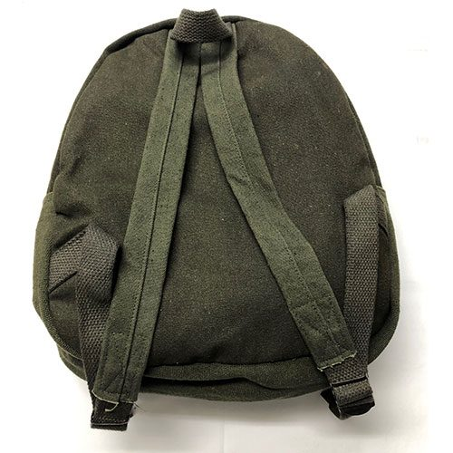 German Small Canvas Rucksack