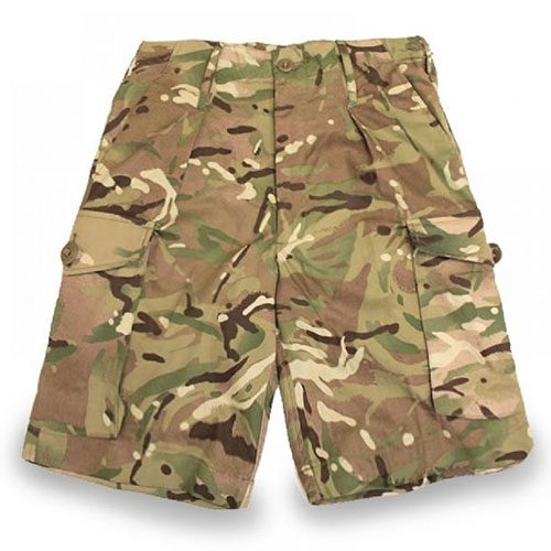 British MTP Camo Shorts