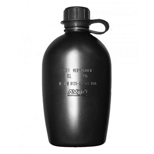 Dutch Large Water Bottle - Black