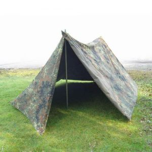 German Reversible 2-Man Pup Tent