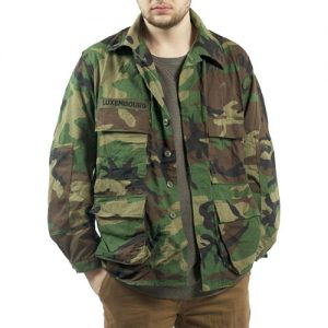 US Woodland CAMO BDU Jackets