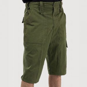 British Army Lightweight Green Shorts
