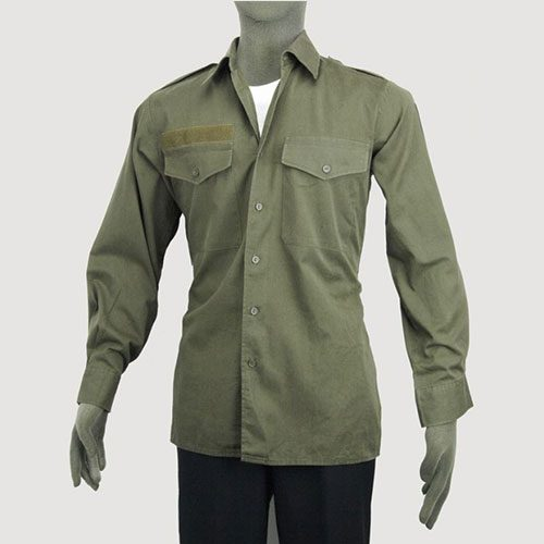 Austrian Army Lightweight Olive Green Shirt