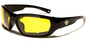 Choppers Padded Men's Goggles Sunglasses