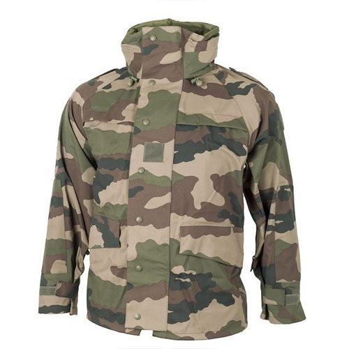 French MVP Breathable CCE Camo Parka