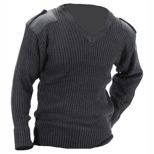 Jersey Man's Jumper - V-Neck