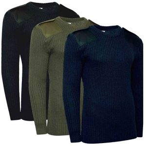 Jersey Man's Jumper - Round Neck